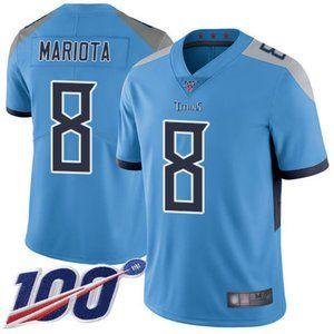 Men's Titans Marcus Mariota 100th Season Jersey